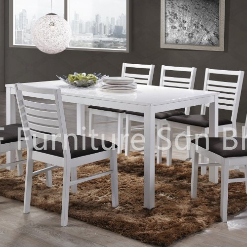DT8990 Aurella Dining Table & DC8333 Elegant Dining Chair