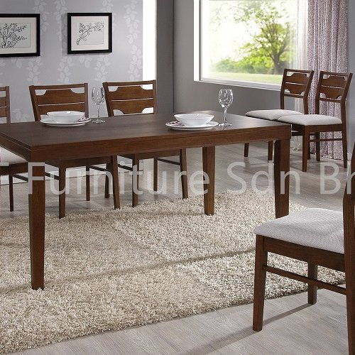 DT8558 Mola Dining Table & DC8810 Vinadio Dining Chair