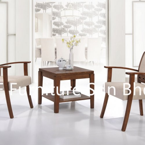 ET8778 Mallila End Table & LC5312 Gallop Lounge Chair