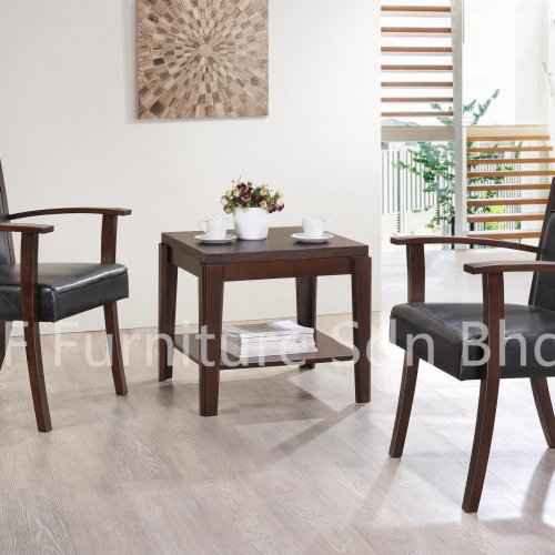 ET8778 Mallila End Table & LC5310 Shield Lounge Chair