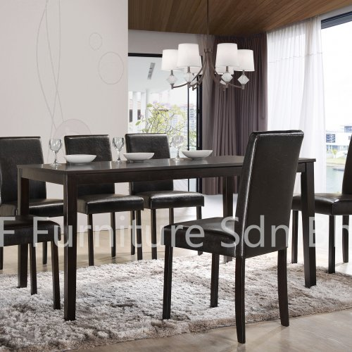 DT8990 Aurella Dining Table & DC800 Parson Dining Chair