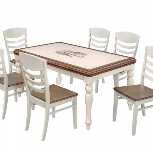 CT 3760-M TILE TOP TABLE