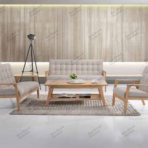 BBT 8011.14 1+2+3 Seater sofa & BBT 4051 Coffee Table