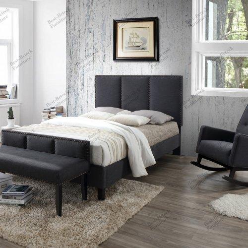 BBT 6669 - Bed & BBT 5312 - Bench & BBT 5308 - Rocking Chair