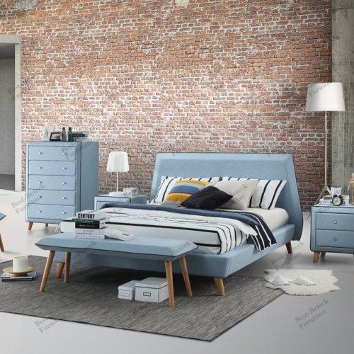 BBT 6668 - Bed & BBT 5310 - Bench & BBT 5311 - Chair & BBT 3150 - Night Stand & BBT 1053 - Tallboy