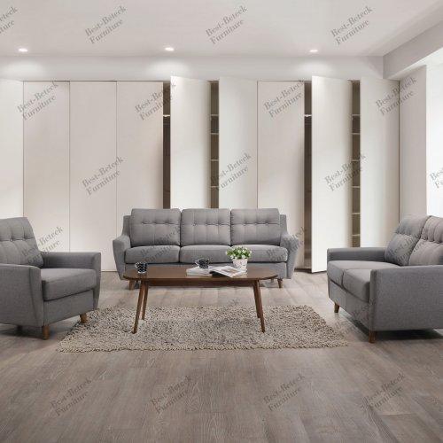 BBT 8022 1+2+3 Seater sofa & BBT 4053 Coffee Table