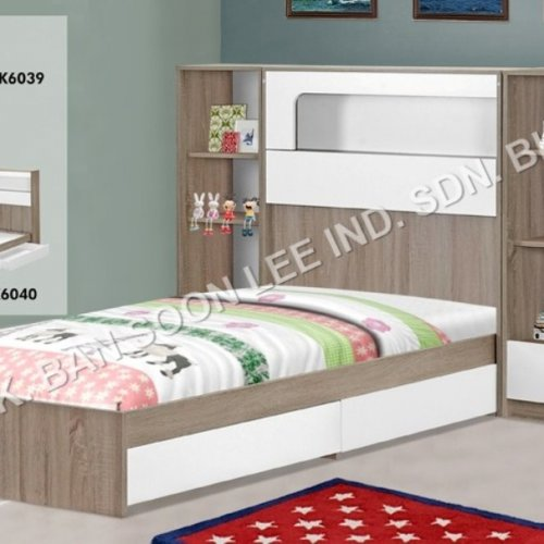 2 UNITS OPEN SHELF & SINGLE BED (COMPLETED SET)