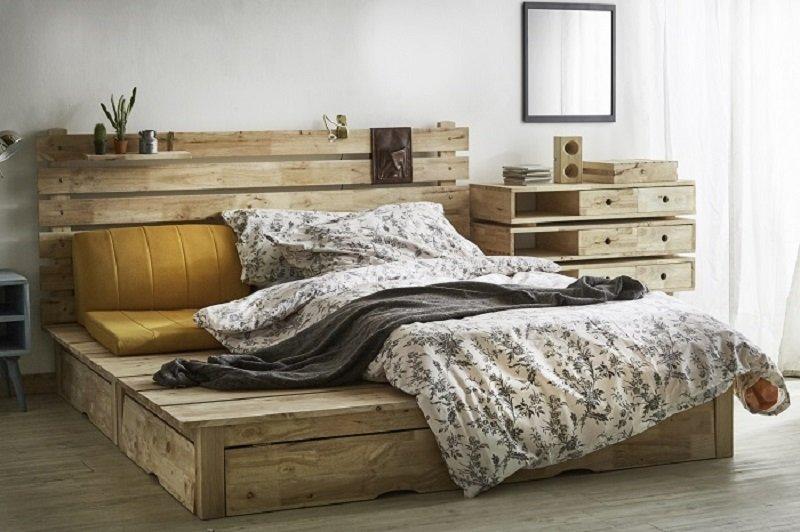 This Anese Platform Bed Is Made Of 100 Solid Para Hardwood