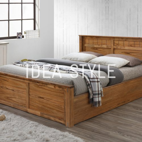 IDEA STYLE - DOUBLE BED (STORAGE BED)