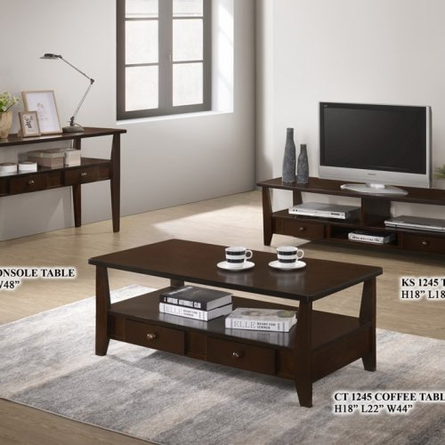 KF 2138 Coffee Table, Console Table + TV Cabinet