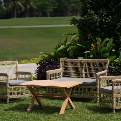 Turnberry wicker sofa set