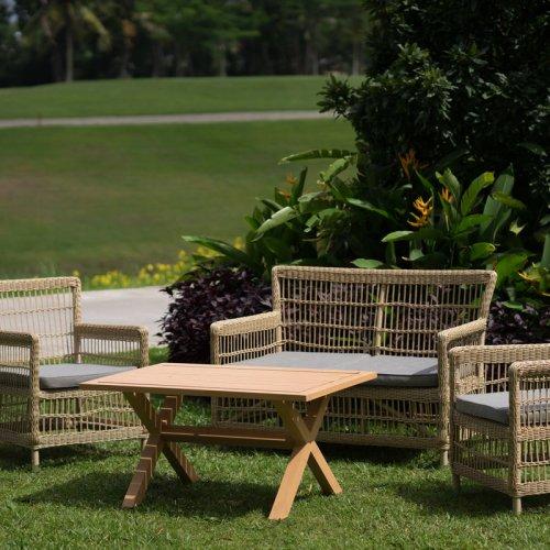 Turnberry wicker sofa set