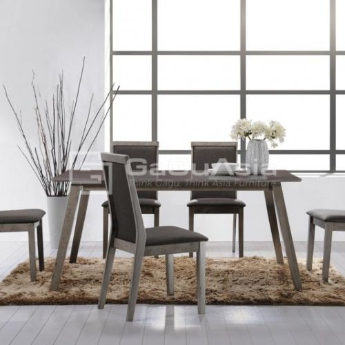 ACKERS DINING SET (1+6)