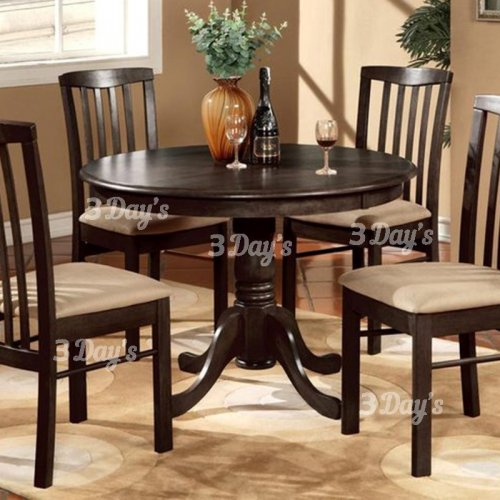 3D-Hazel Dining Set (1+4)
