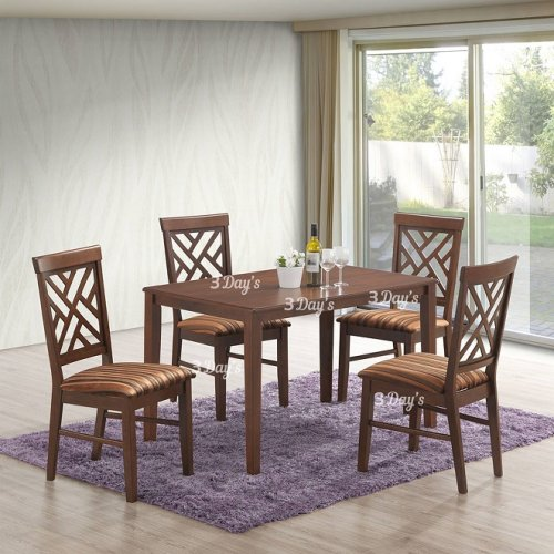 3D- Zoey Dining Set (1+4)
