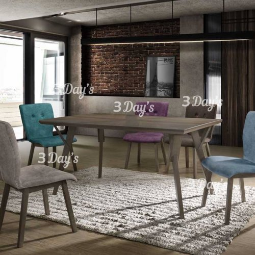 3D- Diana Dining Set (1+6)