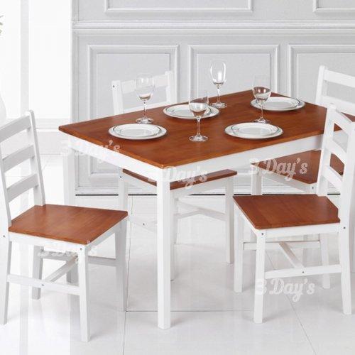 3D- Vesta Dining Set (1+4)
