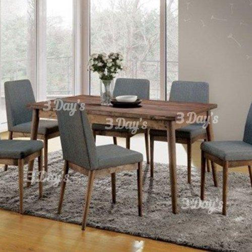 3D- Elma Dining Set (1+6)