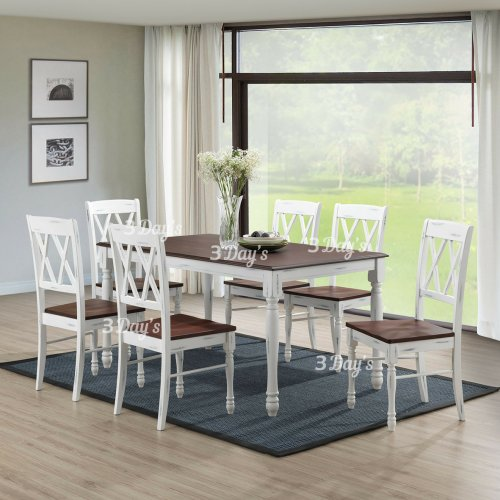 3D- Sexton Dining Set (1+6)