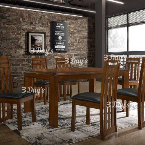 3D- Lexton Dining Set (1+6)