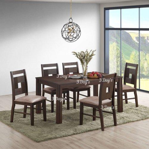 3D- Zen Dining Set (1+6)