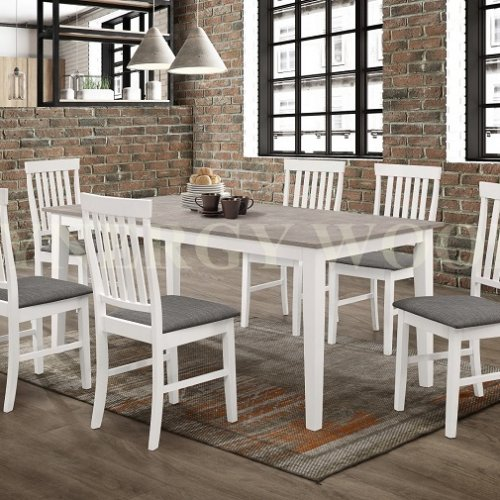 PRESCOTT DINING TABLE AND DINING CHAIR