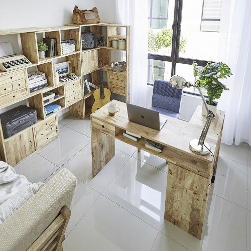 Tetris 2 in 1 Cabinet, Tetris III Open Shelf