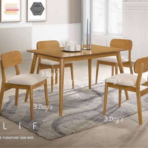 3D- Elif Dining Set (1+4)