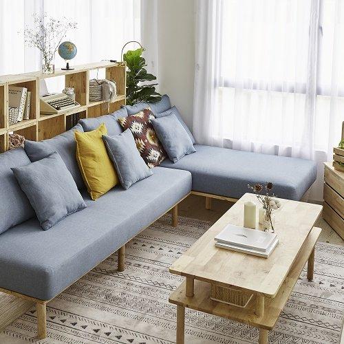 Landmass 3S Sofa, chaise