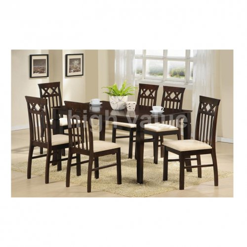 HV SLYVIA Dining Set (1+6)