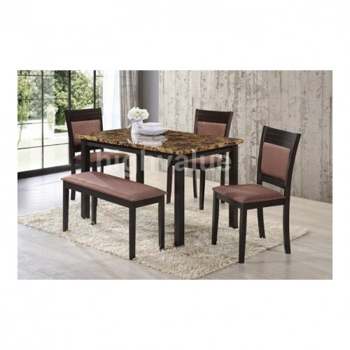 HV SANTIAGO DINING SET (1+1+3)