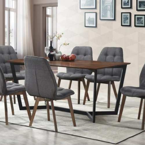 ASHLEY TABLE + VENUS CHAIR 1+6 DINING SET