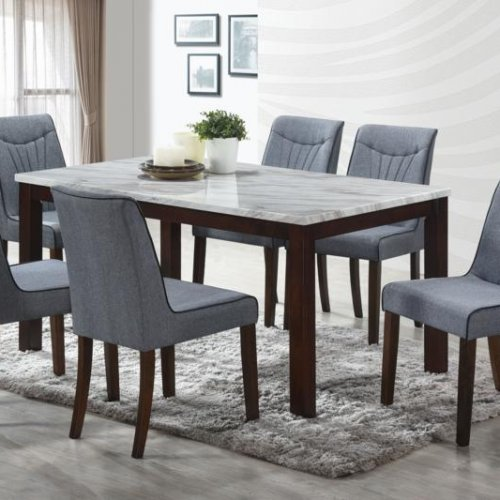 SKY TABLE + TIFF CHAIR 1+6 DINING SET