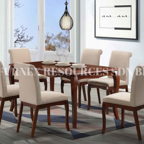 BVLGARY 1+6 DINING SET