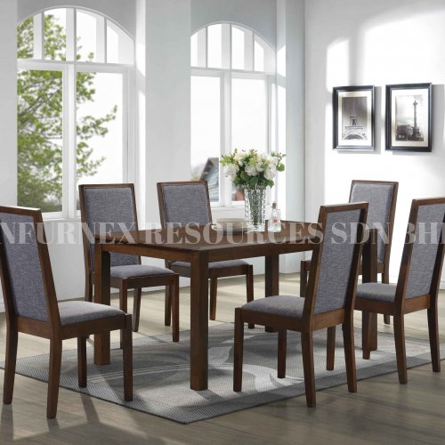 TAIPEI TABLE + WISE CHAIR 1+6 DINING SET
