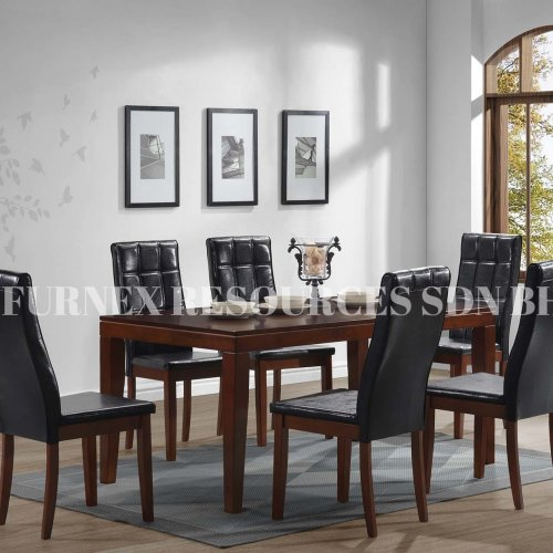 BOXY 1+6 DINING SET
