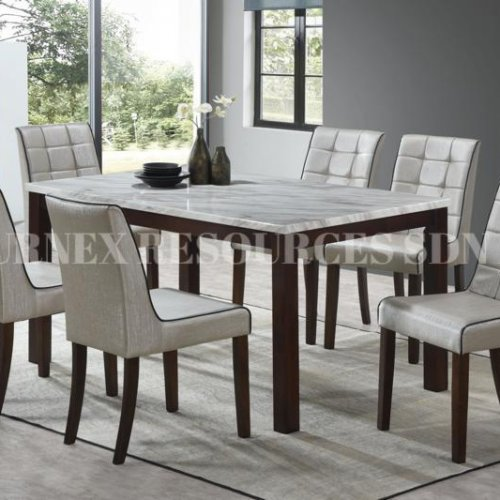 SKY TABLE + WINNY CHAIR 1+6 DINING SET