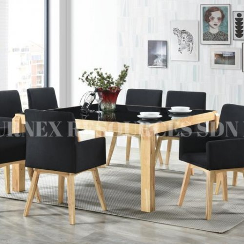 G-SQUARE 1+8 DINING SET