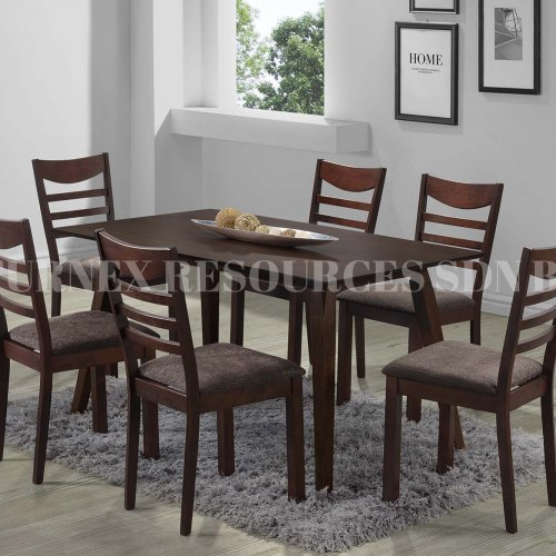 JERRY TABLE + DOLLY CHAIR 1+6 DINING SET