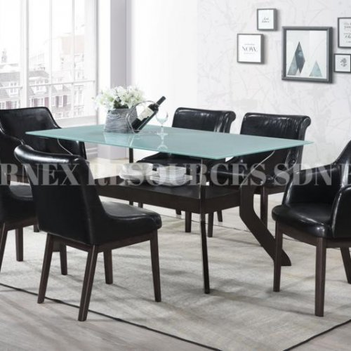 QUINCY 1+6 DINING SET