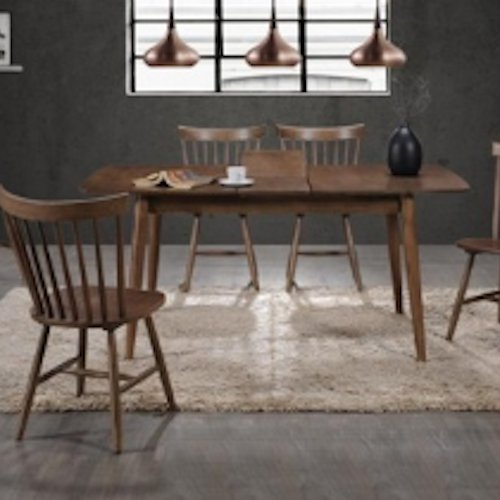 Dining Table HG7005DT and Dining Chair HG9015DC
