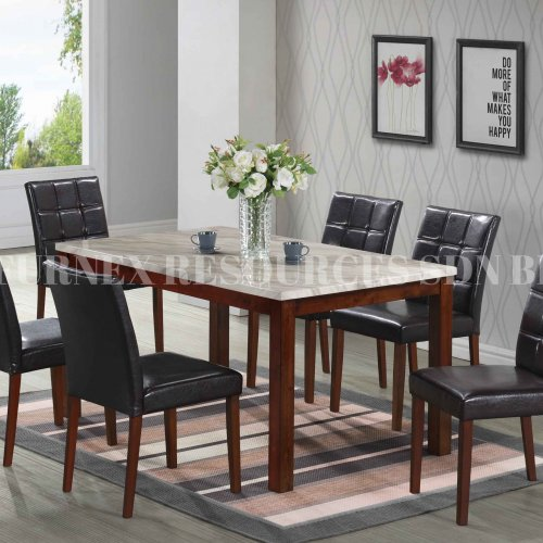 SKY TABLE + RUBY CHAIR 1+6 DINING SET
