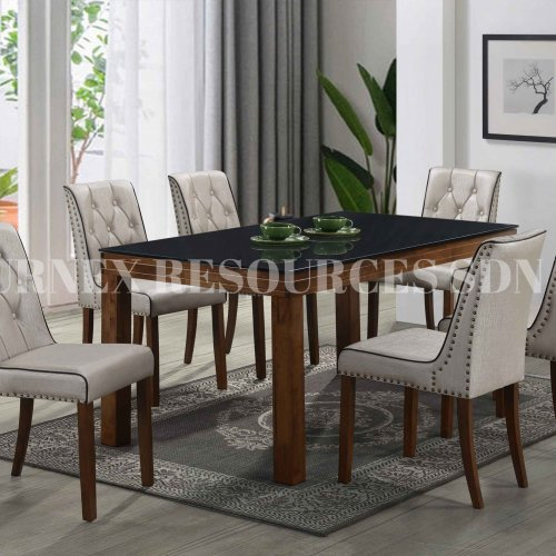 COLUMBIA 1+6 DINING SET